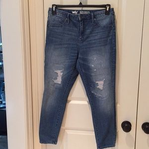 Mossimo high-rise jegging crop